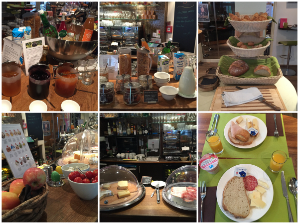 Café da manhã Platzhirsch