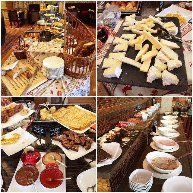 Café da manhã Warwick Geneva