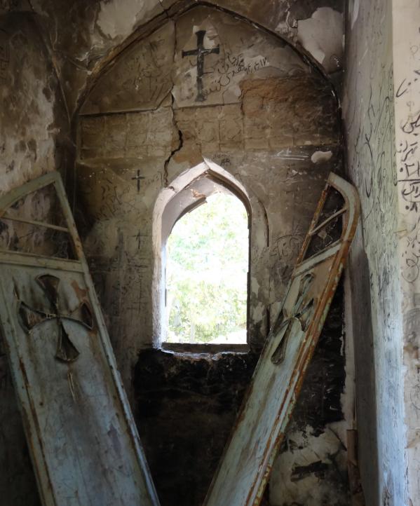 Igreja abandonada em Shiraz