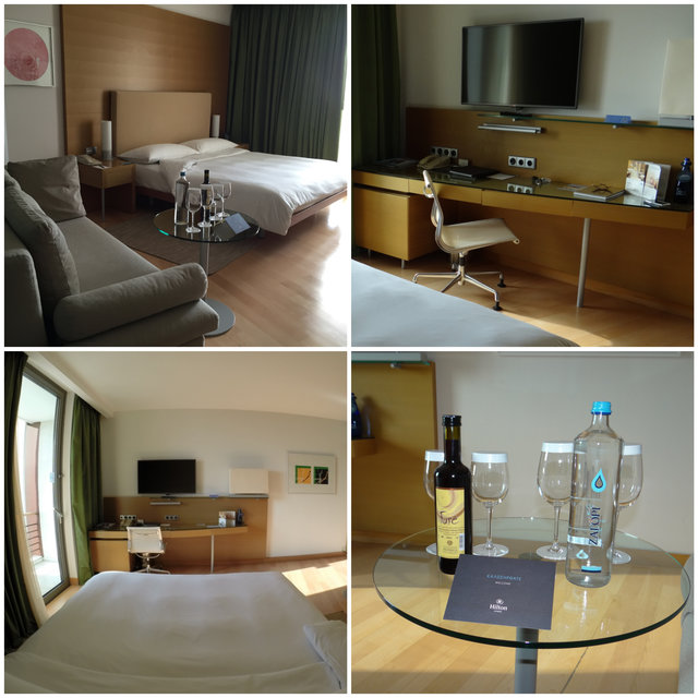 Quarto Hotel Hilton Atenas
