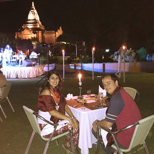 Ano Novo em Bagan