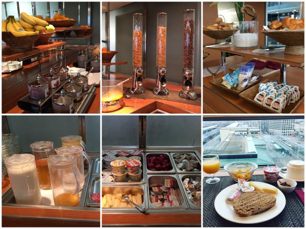 Café da manhã Hotel Cornavin