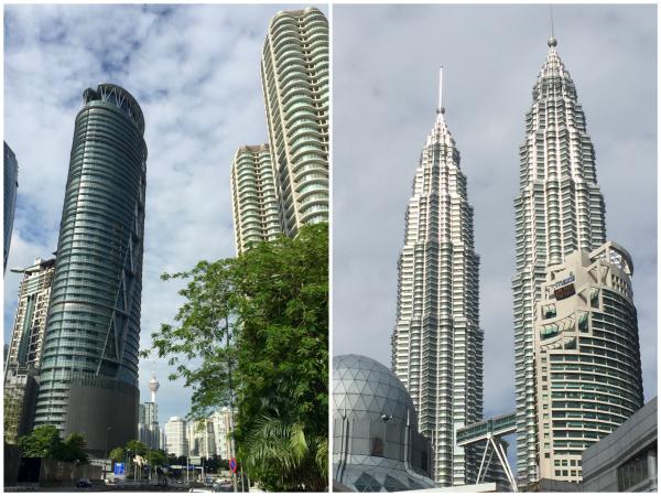 Edifícios em Kuala Lumpur