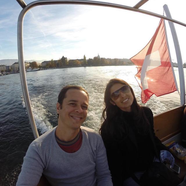 Passeio de barco pelo Lago Genebra, na Suíça