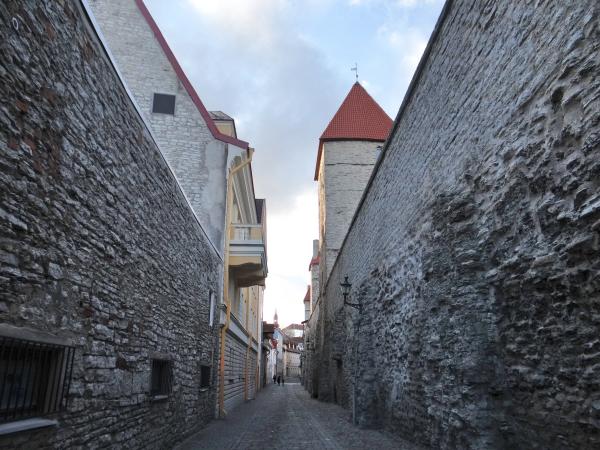Muralhas Medievais em Tallinn