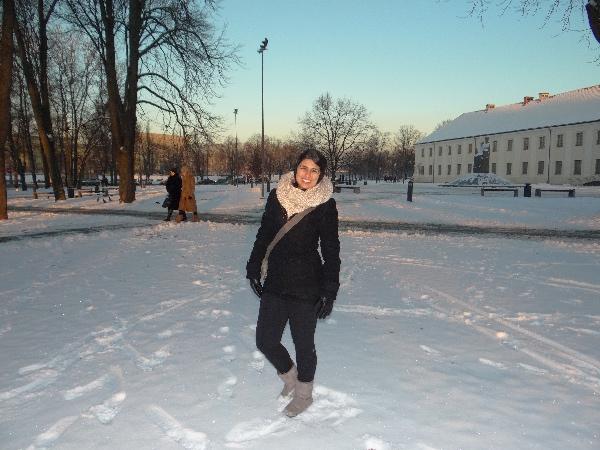 Winter in Vilnius