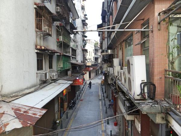 Rua em Macau