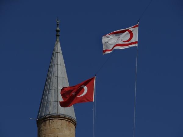 Bandeira Turca em Nicosia