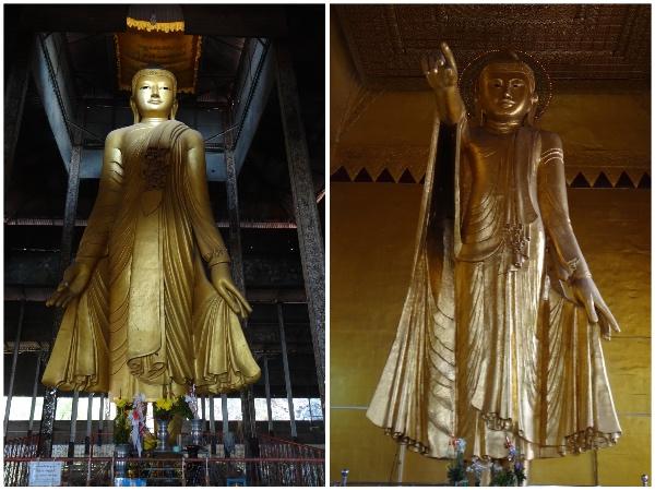 Imagens de Buda no Mandalay Hill