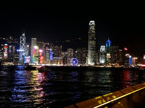 Show de Luzes Hong Kong
