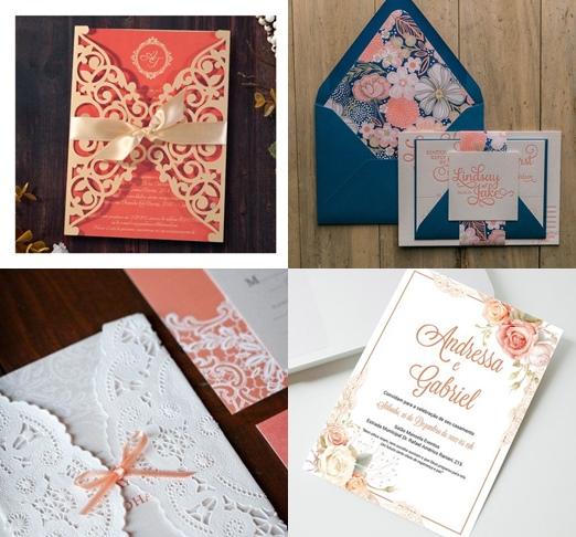 cor-do-ano-pantone-coral-vivo-convites-casamento