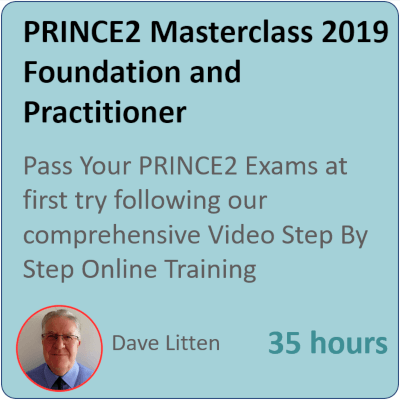 PRINCE2 Masterclas for Practitioners