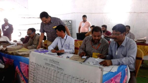 Araria Lok Sabha By-polls - counting of votes