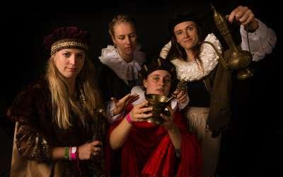 Rembrandt Fotoshoot op de Nacht van Ontdekkingen