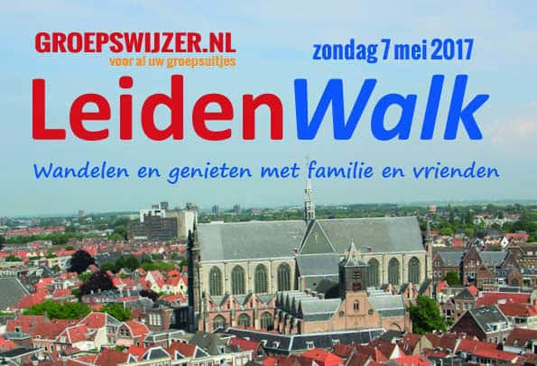 LadiesWalk wordt LeidenWalk