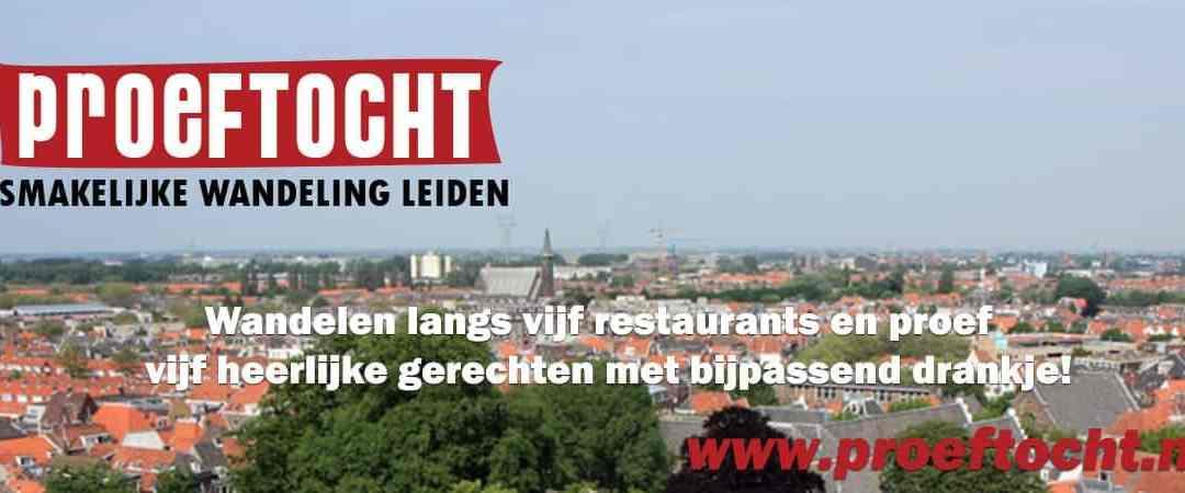De Proeftocht, de smakelijkste wandeling van Leiden op 5 maart 2017!