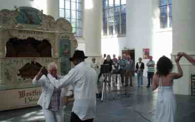 De Leidse Draaiorgeldag: muziek en dans in de kerk