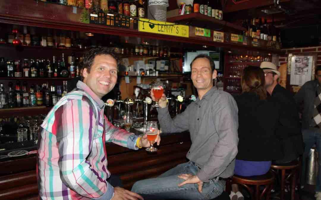 Geslaagde 1e editie Lentebierwandeling in Leiden