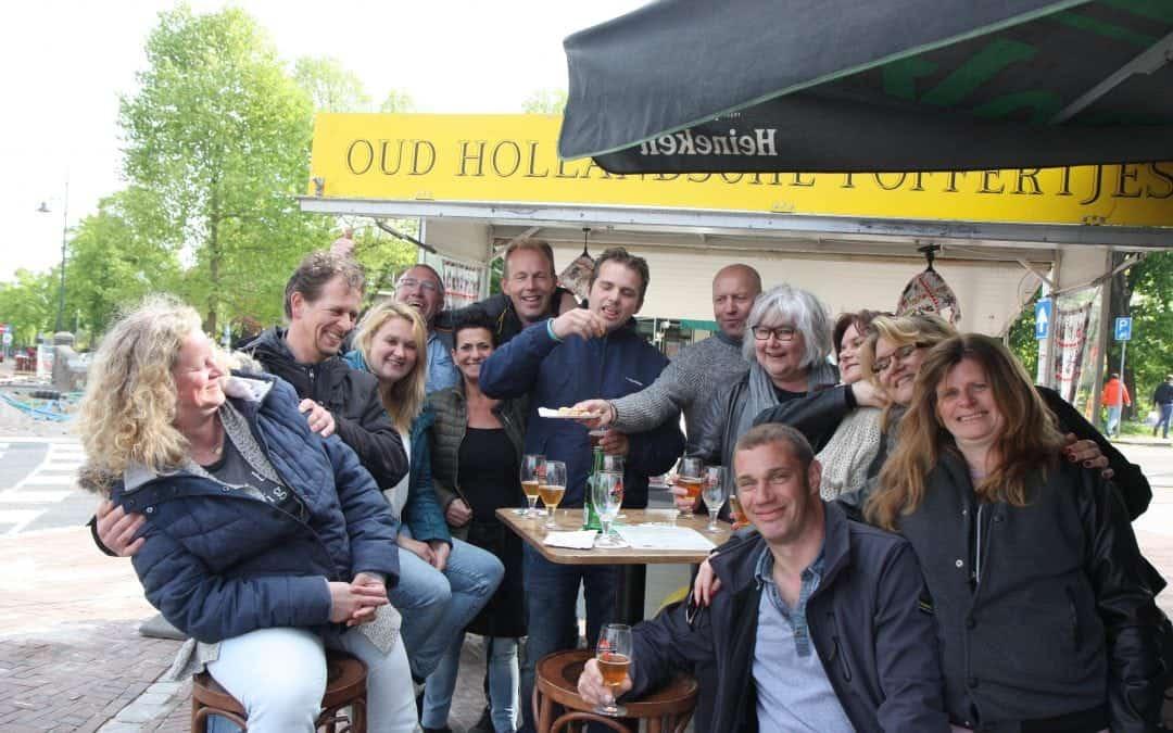 Mensen in beweging door LeidenWalk en Lentebierwandeling!