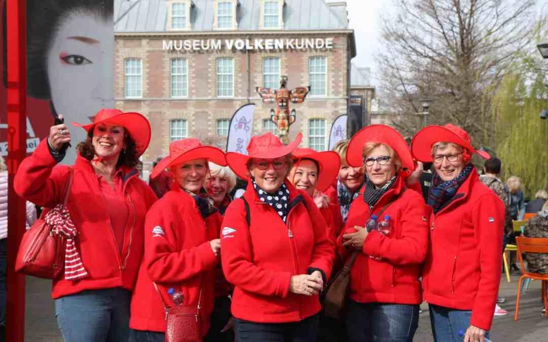Gezellige drukte bij 8e Groepswijzer.nl LadiesWalk