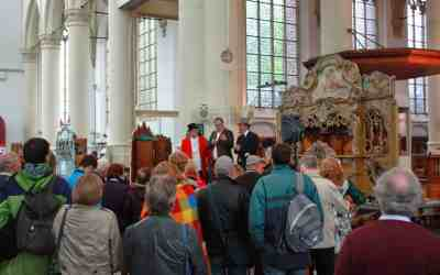 Drukbezochte Leidse Draaiorgeldag in Hooglandse kerk