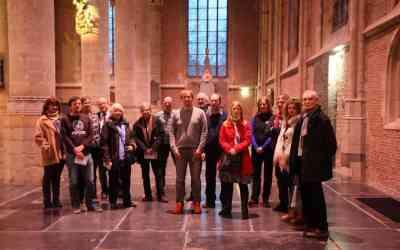 Gidsen Groepswijzer.nl te gast in Pieterskerk Leiden