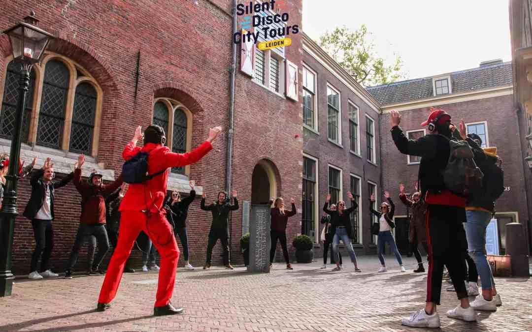 Nieuw: Silent Disco City Tour Leiden!