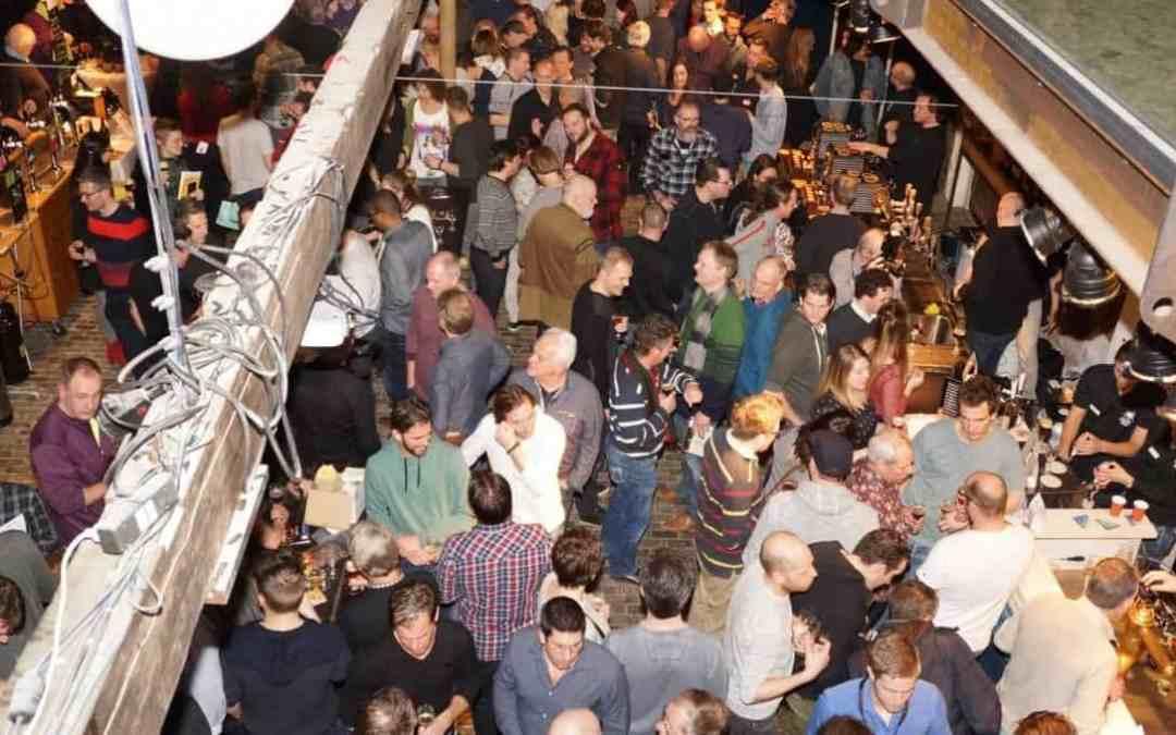 3e Winterbierfestival Leiden in Scheltema