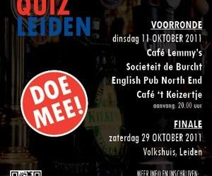 Hoe slim is Leiden: KennisPub(lieks)Quiz Leiden