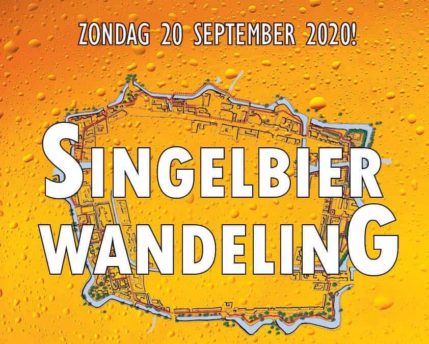 Singelbierwandeling, wandelen en bieren langs de singels!