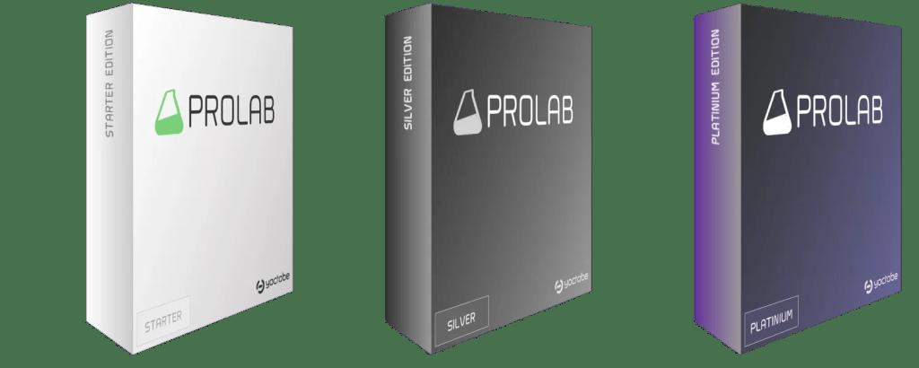 Prolab LIS Versions