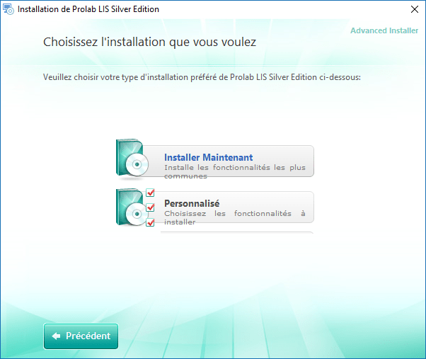 Installation Prolab LIS