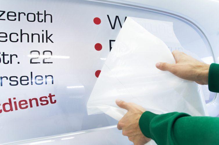 Fahrzeugbeschriftungen