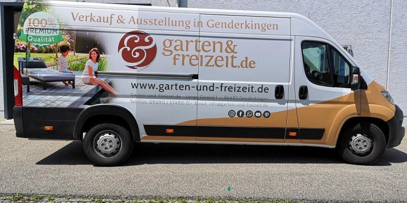 Fahrzeugbeschriftung Augsburg 19