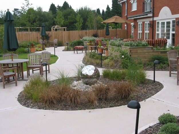 Image result for dementia facility circular walkway