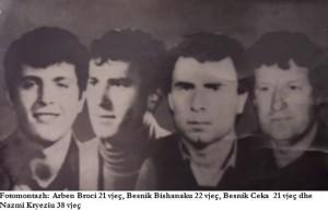 Kater herojte shkodran te 2 Prillit 1991