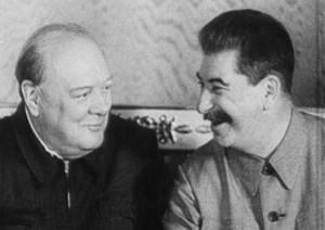 Curçilli dhe Stalin