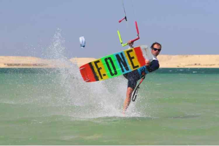 Kite à Dakhla