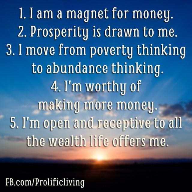 money-affirmations