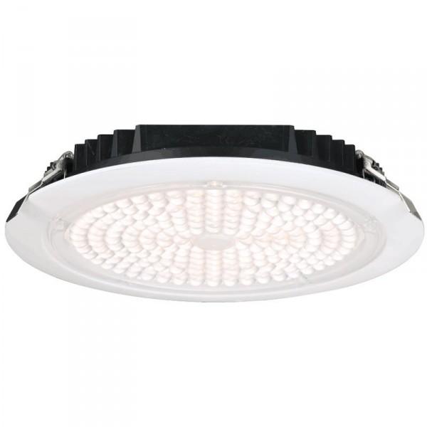lotus 50 watt 10 commercial recessed led downlight 3000k 6 300 lumens 120 277v white