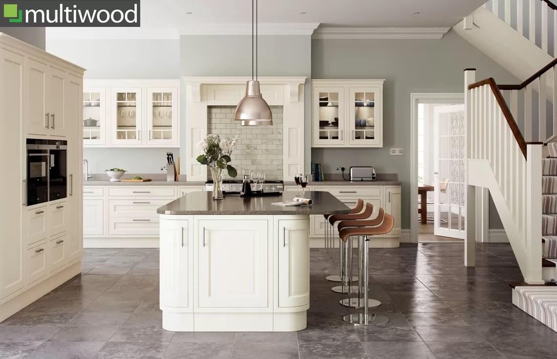 Multiwood Eildon Ash Painted In-frame Kitchen