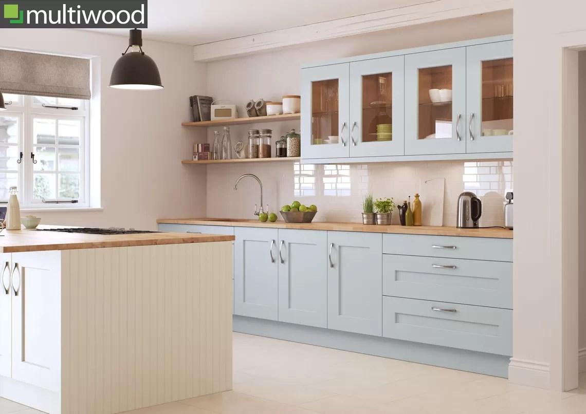 Multiwood Rivington Cameo – Mineral & Cream Kitchen