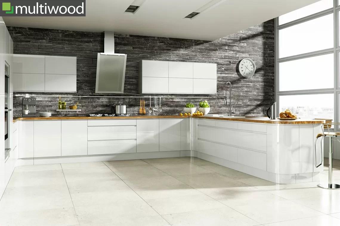 Multiwood Welford Bright White Kitchen