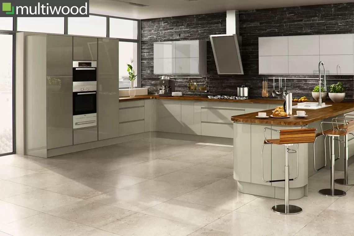 Multiwood Welford Willow & Grey Kitchen