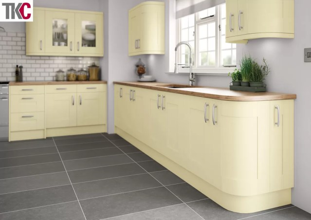 TKC Cartmel Hand Painted Cream Kitchen