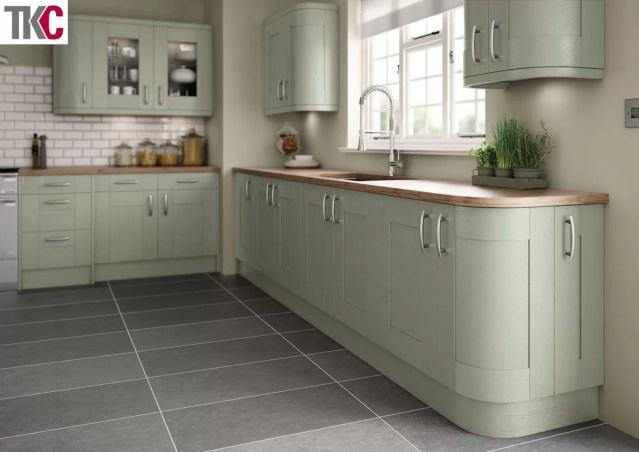 TKC Cartmel Hand Painted French Grey Kitchen