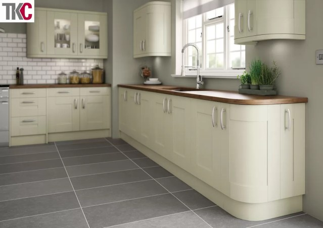 TKC Cartmel Hand Painted Sage Green Kitchen