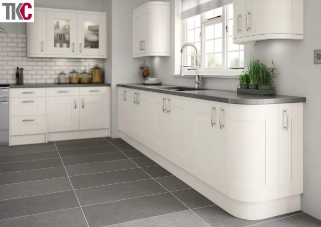 TKC Cartmel Hand Painted White Kitchen