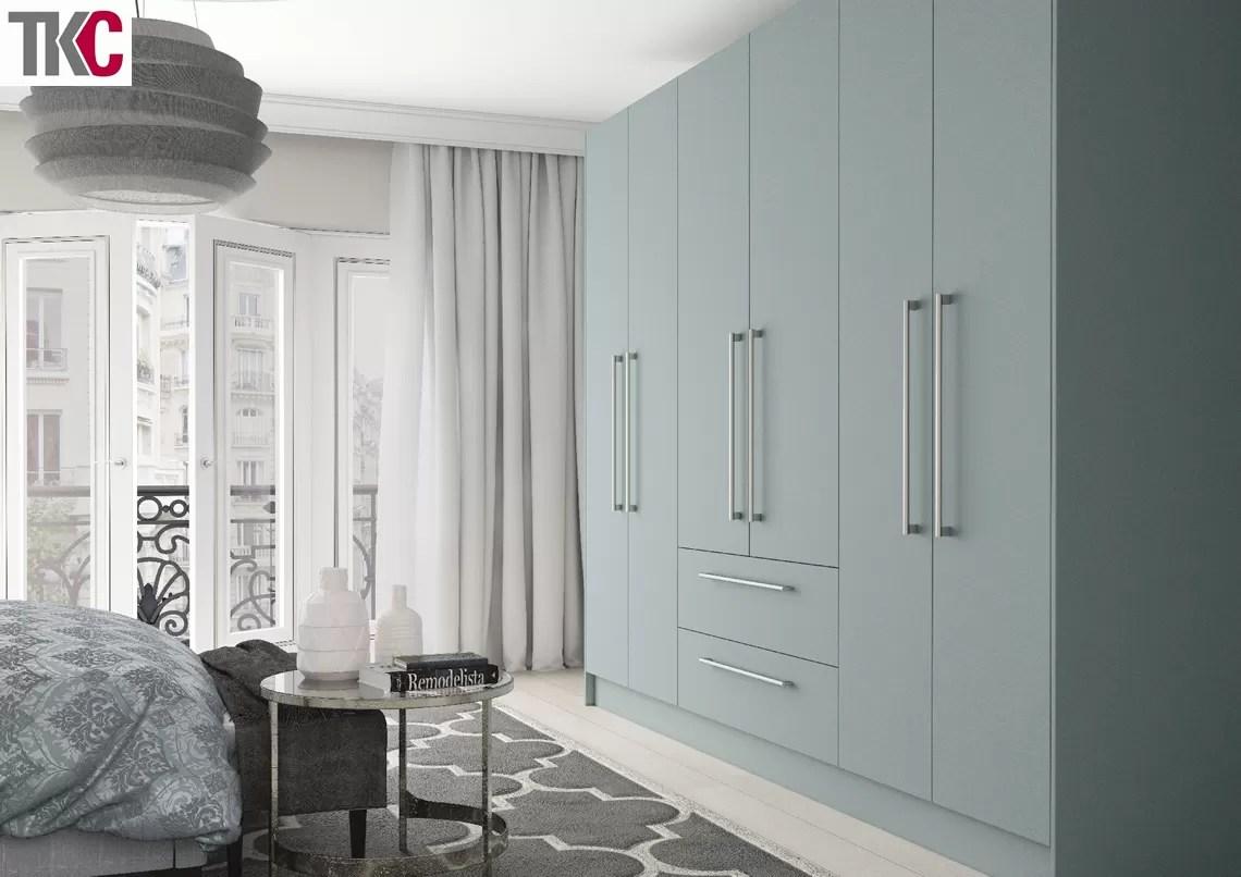TKC Lastra Super Matt Fjord Bedroom