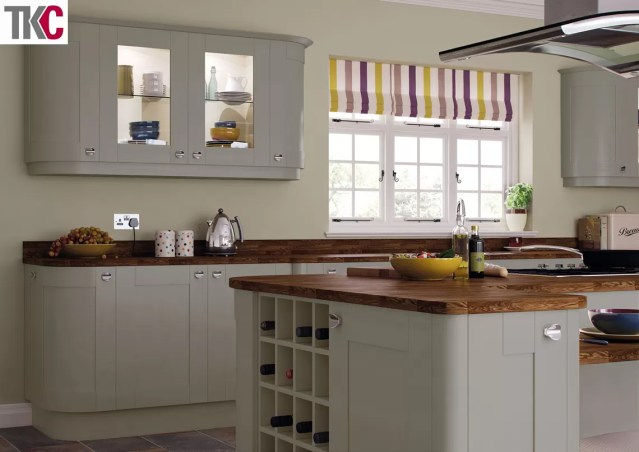 TKC Richmond Hand Painted Dust Grey Kitchen